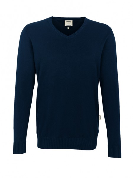 V-Pullover Premium-Cotton von HAKRO